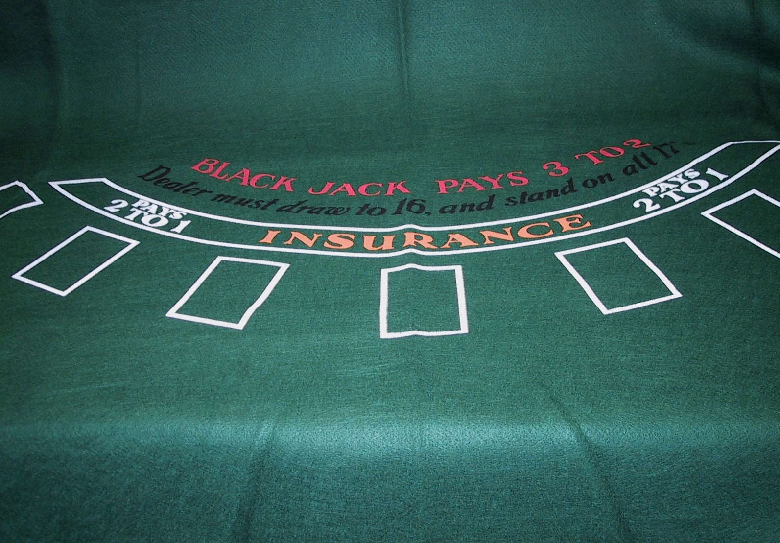 Image of   Black-Jack Cloth - 180 x 90 cm
