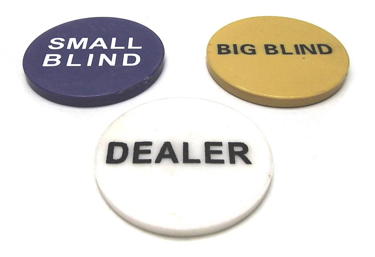 Heads up poker small blind dealer