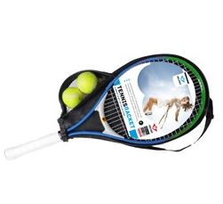 Image of   Angel Sports Tennis Racket med Cover - Grøn