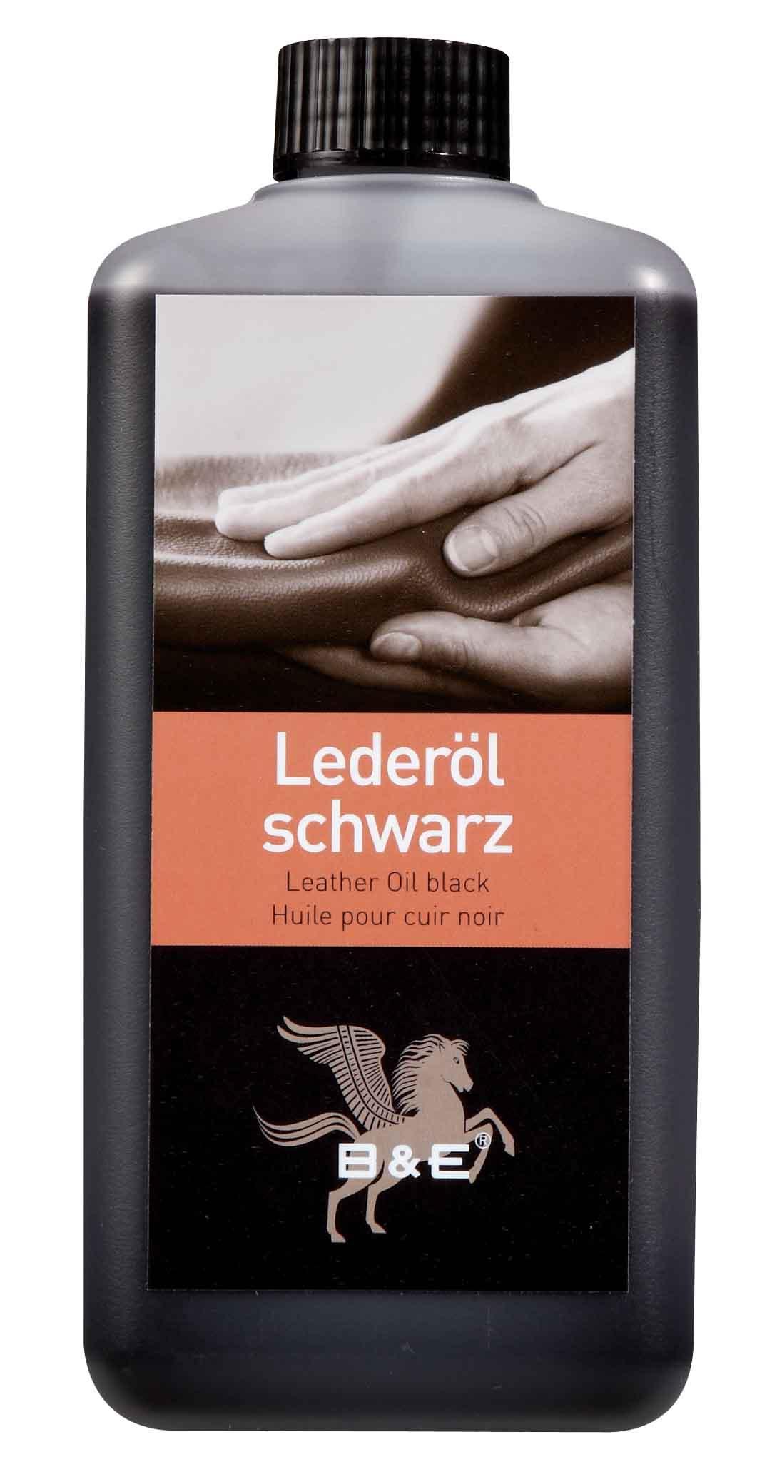 Image of   Bense & Eicke Leather Oil 2500 ml - Sort