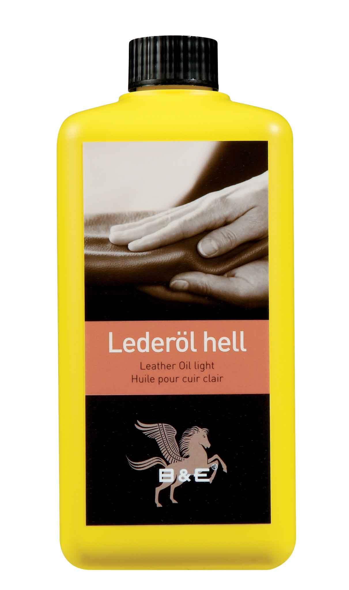 Image of   Bense & Eicke Leather Oil 5000 ml - Neutral