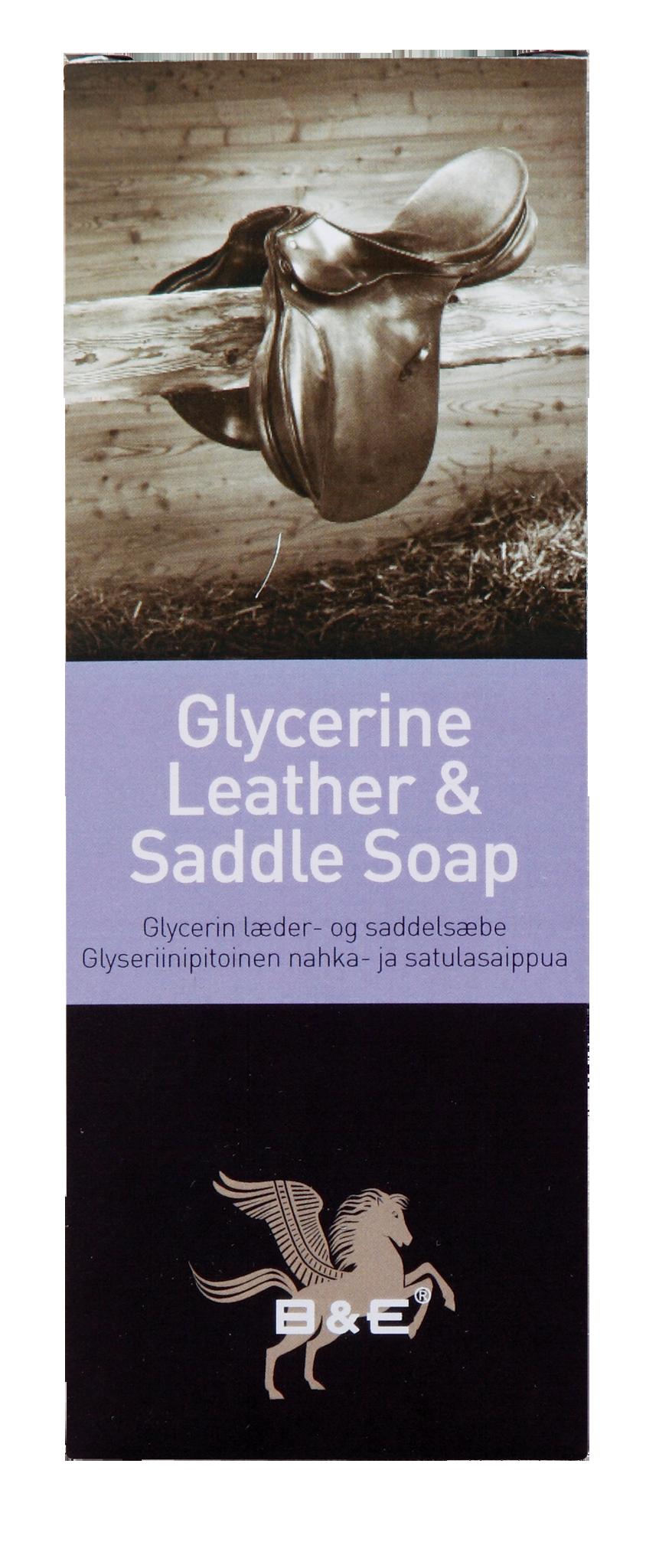 Image of   Bense & Eicke Glycerine Læder og Saddle Soap Stick - 250 gram