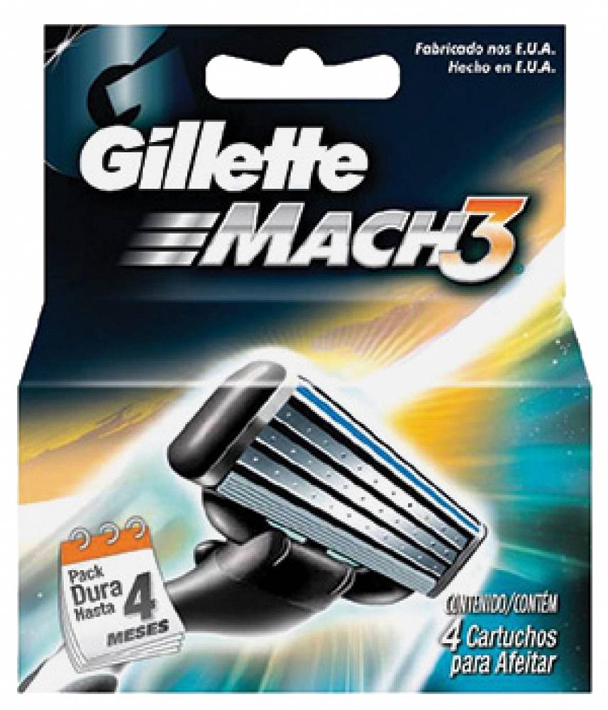 Image of   Gillette MACH 3 Mænds Razor Blade