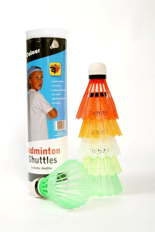Image of   Angel Sports Plastic Shuttles - Neon