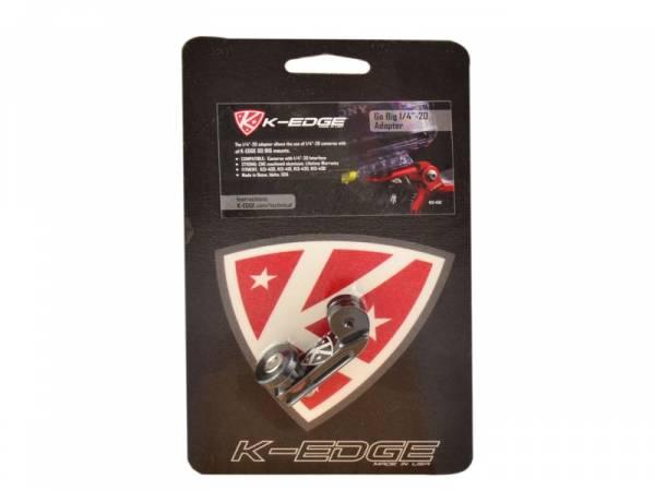 Image of   K-edge Adapter til GoPro HERO - 1/4 20 tommer - Sort