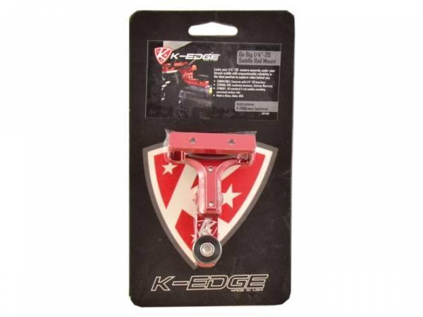 Image of   K-edge Go Big Sadelpind Mount til GoPro HERO - 1/4 20 tommer - Rød