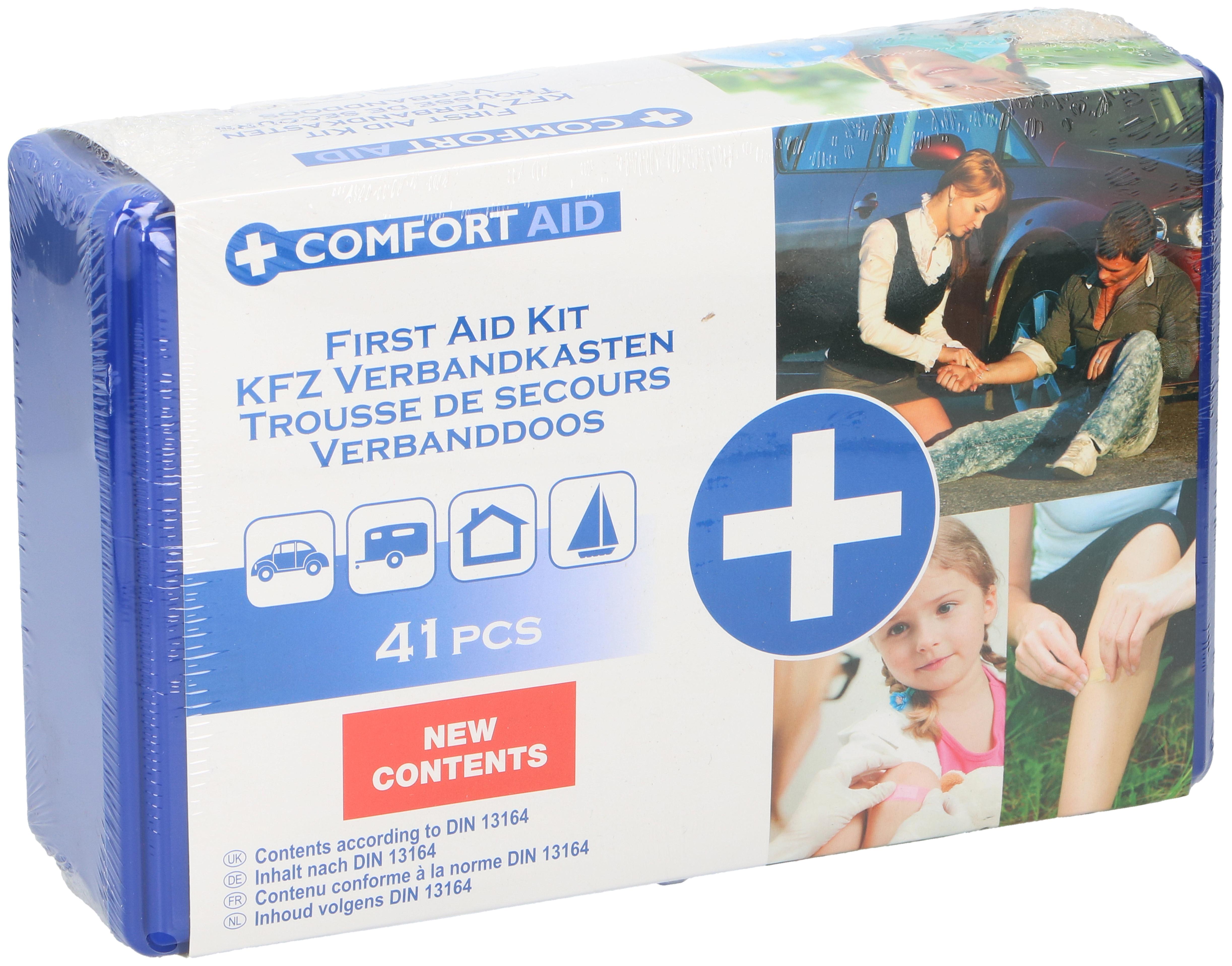 Comfort Aid Verbanddoos 41 Pcs Set