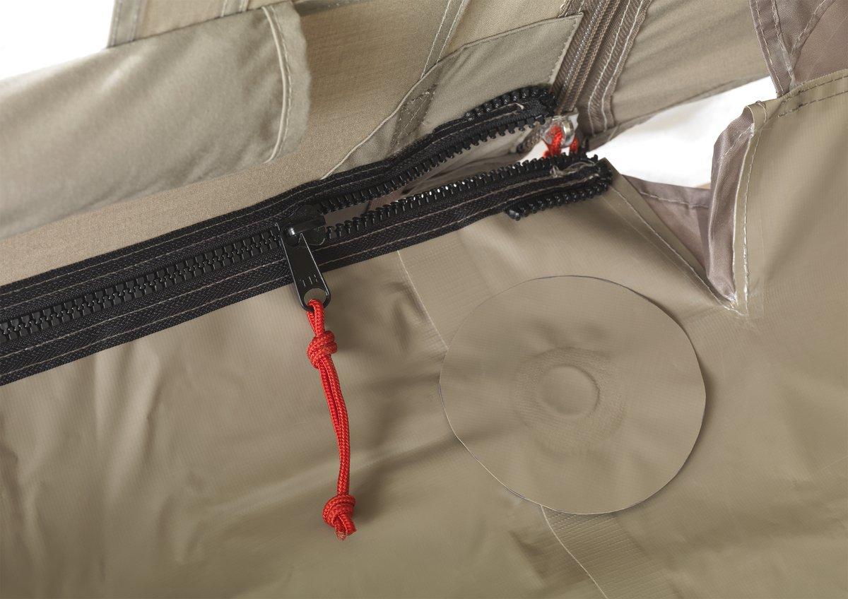 Nomad Dogon 3 (+1) LW Zip-In Grondzeil - Donker Grijs