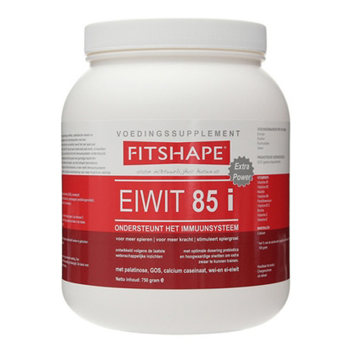 Image of   Fitshape Protein 85 Jeg Strawberry 750 g