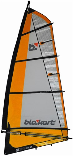 Image of   Blokart Sail Komplet 3.0m - Orange