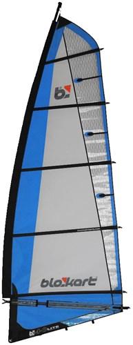 Image of   Blokart Sail Komplet 4.0m - Blå
