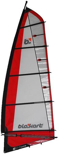 Image of   Blokart Sail Komplet 4.0m - Rød