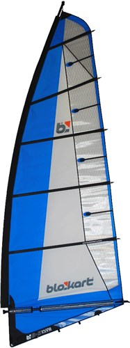 Image of   Blokart Sail Komplet 5,5 - Blå
