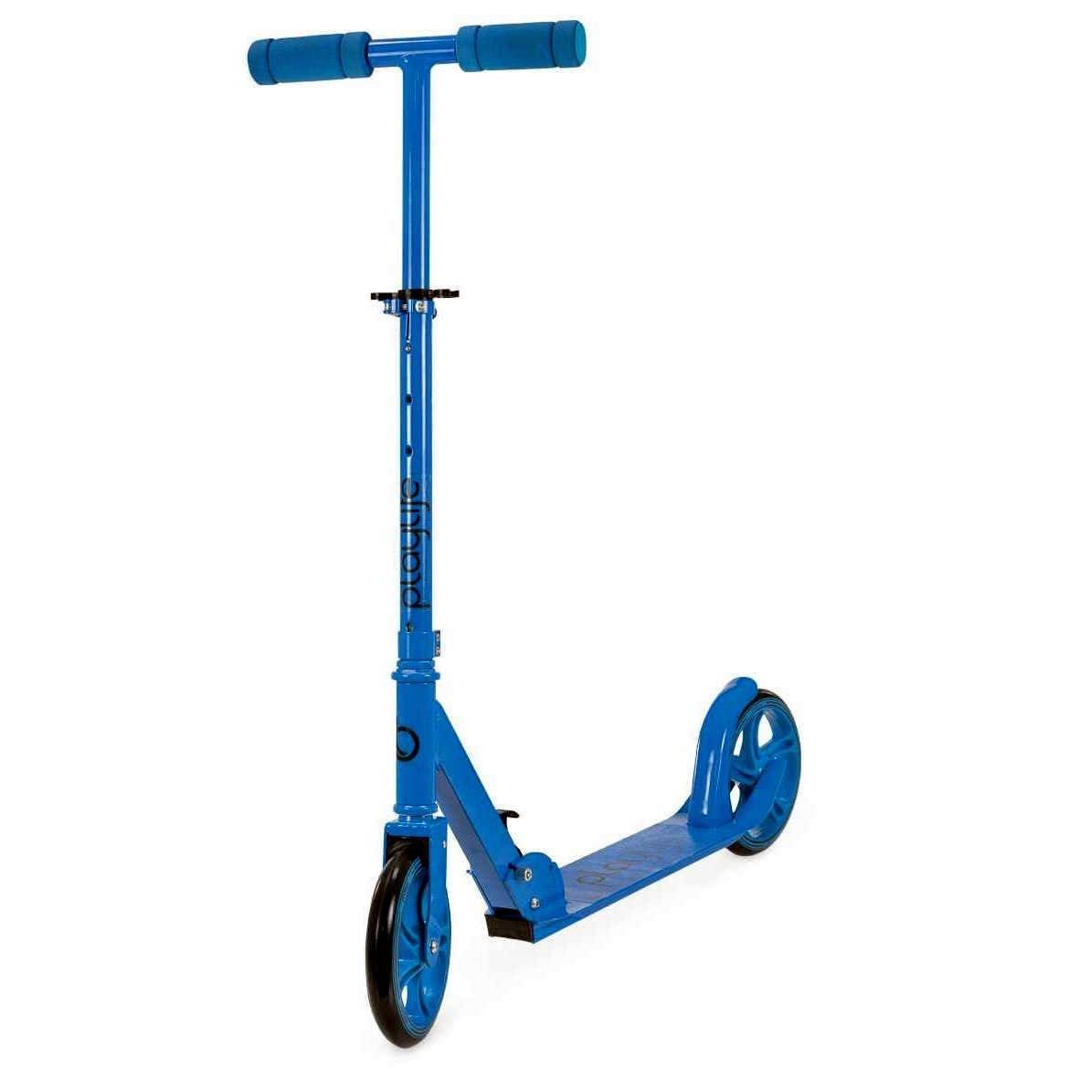 Image of   Playlife Big Wheel Scooter - Blå