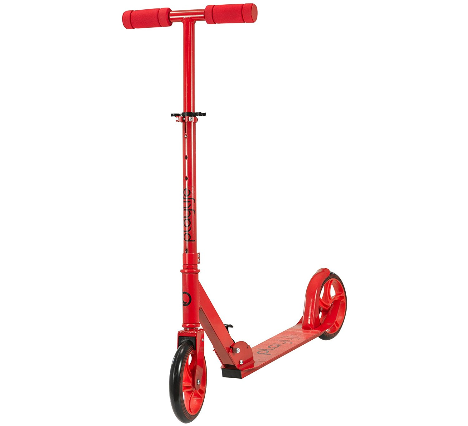 Image of   Playlife Big Wheel Scooter - Rød