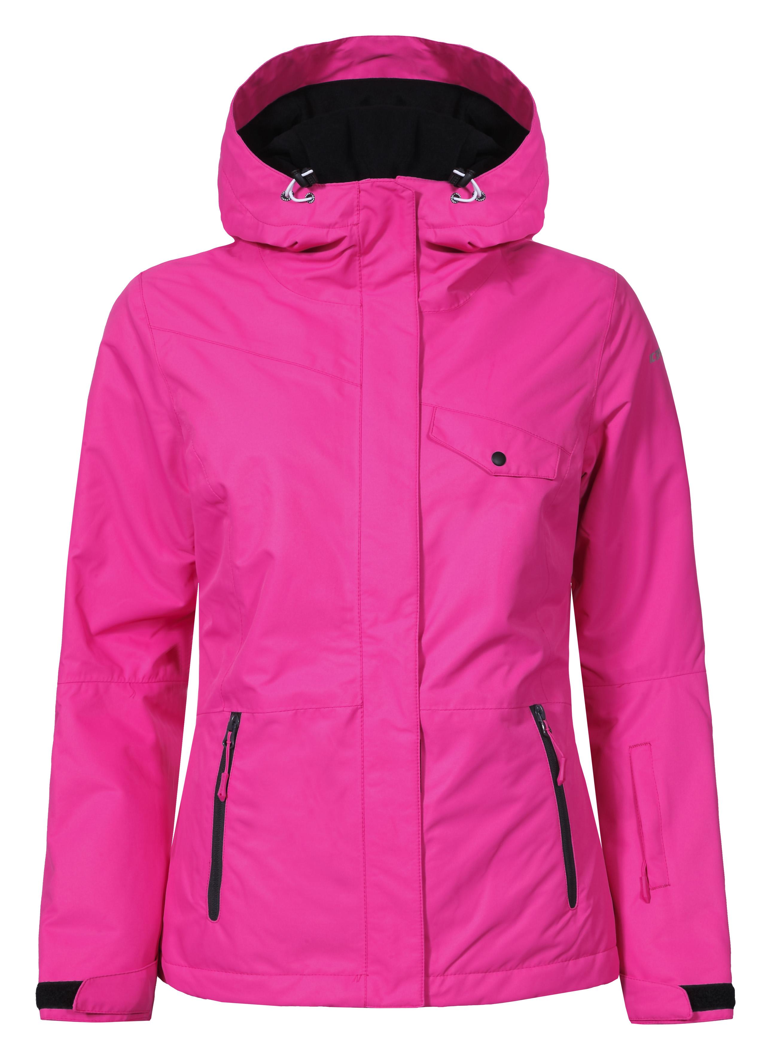 Image of   Icepeak Kaisa Wadded Jacket women - Cranberry - 38