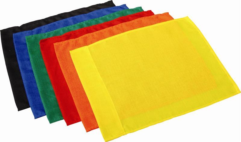 Image of   Borderflag en farve - Rød