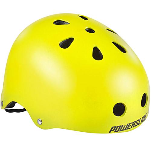 Image of   Powerslide Allround hjelm - Neon Gul