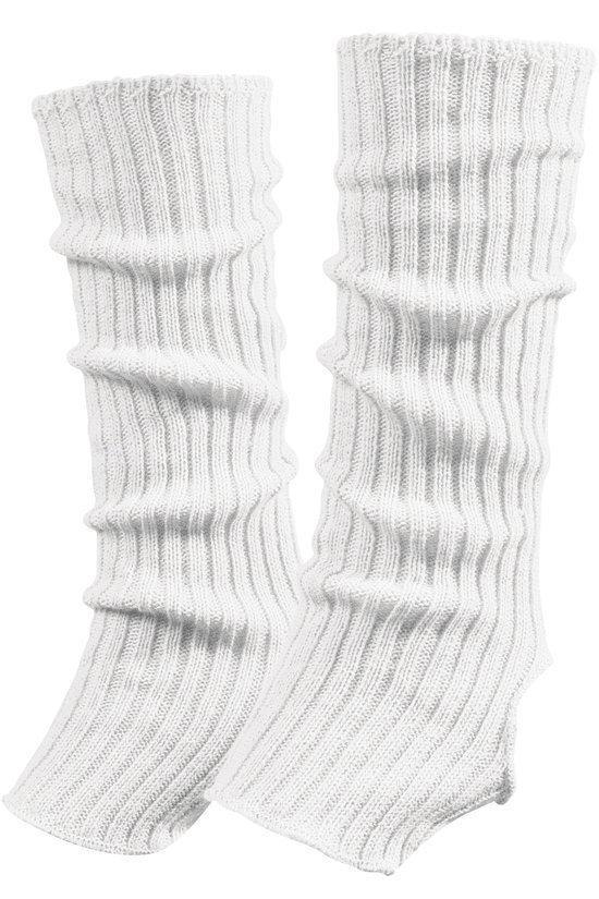 Image of   Papillon Ankle warmers længde 40 cm akryl Kvinder - Hvid - One størrelse