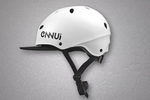 Image of   Ennui SF Hjelm med Visor - Hvid