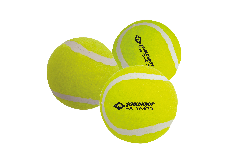 Donic Schildkröt tennisballen geel 3 stuks