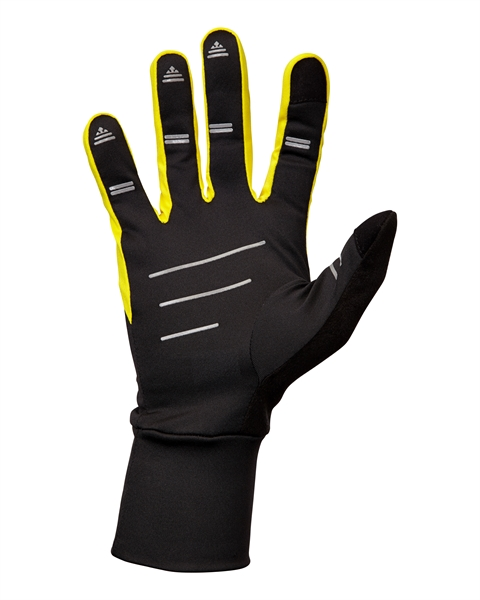 Image of   Nathan Speedster Glove - Sort / Cyber Gul / Reflective