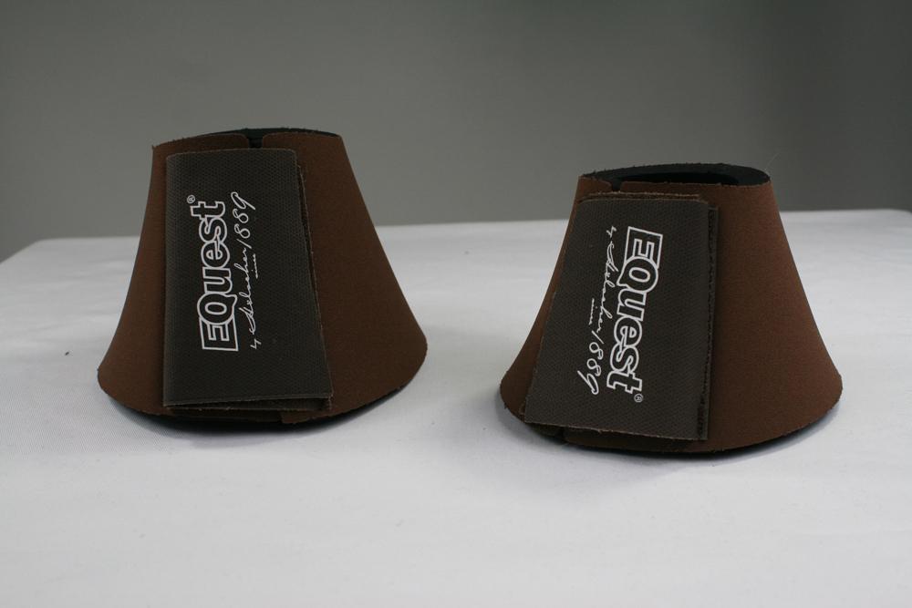 Image of   Equest Bell Boots Neopren - Brun
