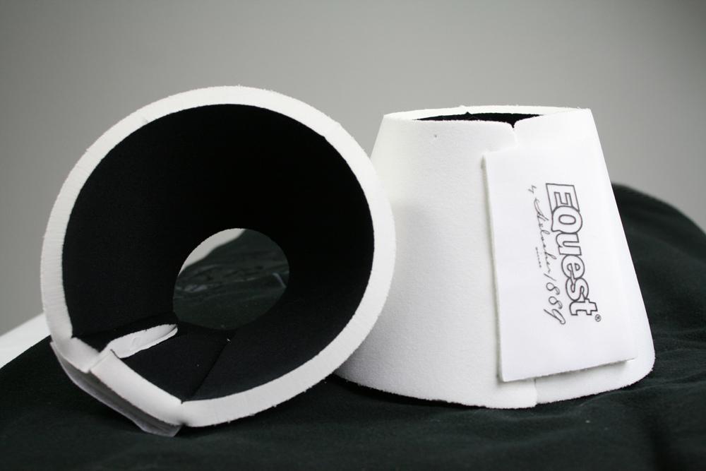 Image of   Equest Bell Boots Neopren - Hvid