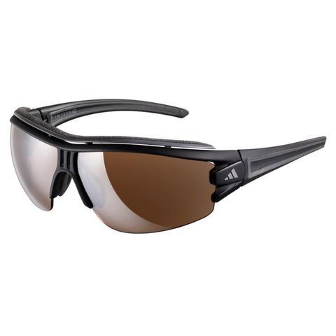 Image of   Adidas Eyewear Evil Eye Halfrim Pro Solbriller Matt Black-Green / LST atkiv + LST bright_L
