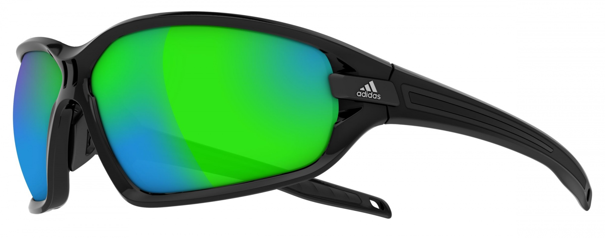 Image of   Adidas Eyewear Evil Eye Evo Solbriller Black Shiny / Green_L