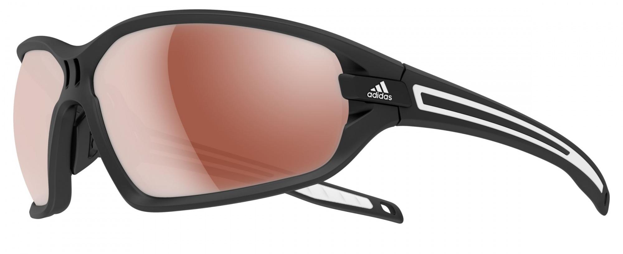 Image of   Adidas Eyewear Evil Eye Evo Solbriller - Sort mat / Sølv