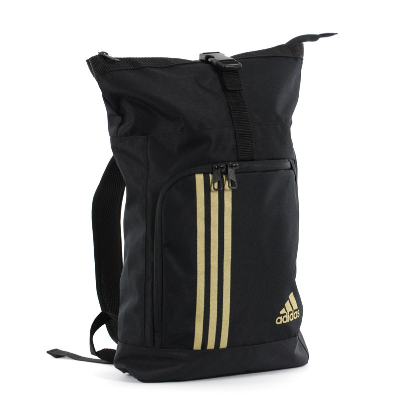 Image of   Adidas Militaire Sports taske - 48 x 28 x 11 cm - Sort / Guld