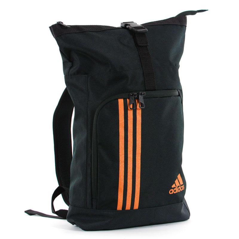 Adidas Training Military Sporttas Zwart-Oranje_S