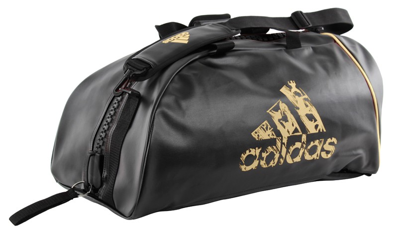 Image of   Adidas 2-in-1 Sports Bag - 62 x 31 x 31 cm - Black / Gold