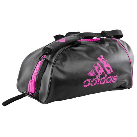 Image of   Adidas Super Sports Bag - 62 x 31 x 31 cm - sort / pink