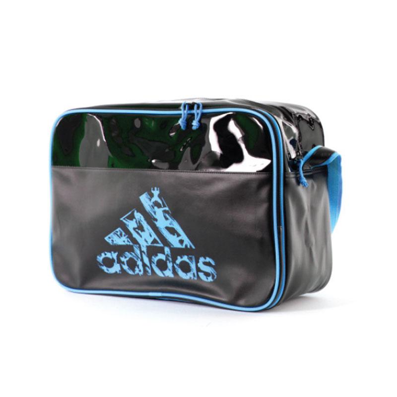 adidas Sport Schoudertas Zwart/Blauw Large