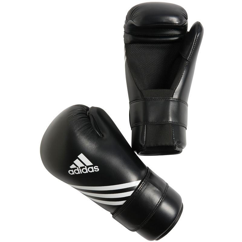 Adidas Semi Contact Handschoenen - Zwart_L
