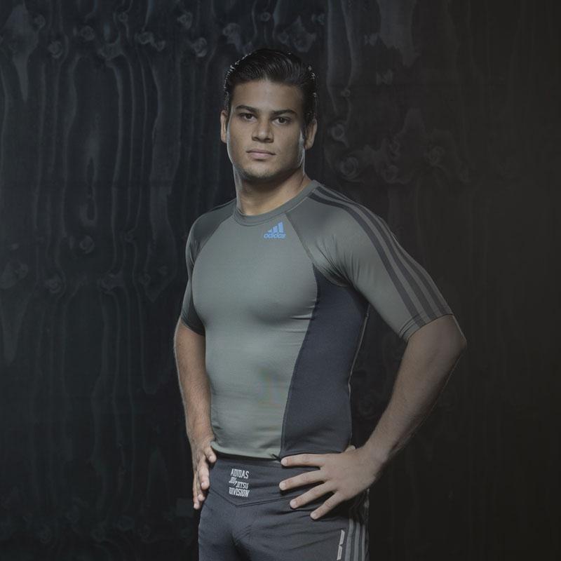 Image of   Adidas Grappling Rashguard - Mænd - Grey_L