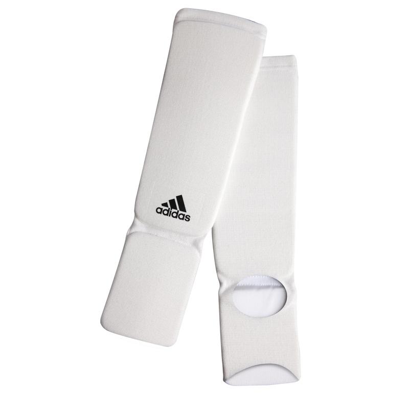 Image of   Adidas Elastisk Benskinner / Shin-n-Step - Hvid