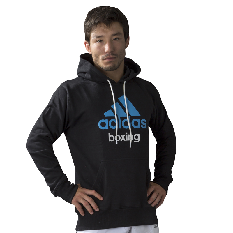 Image of   Adidas Community Hoodie - Boys - Blue_164