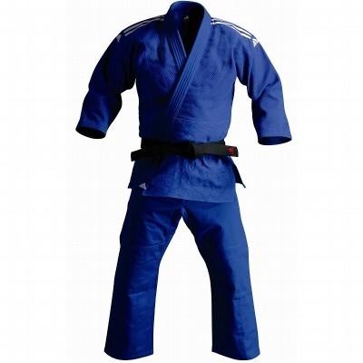 Adidas J500 Judo Anzug - Blau - 190