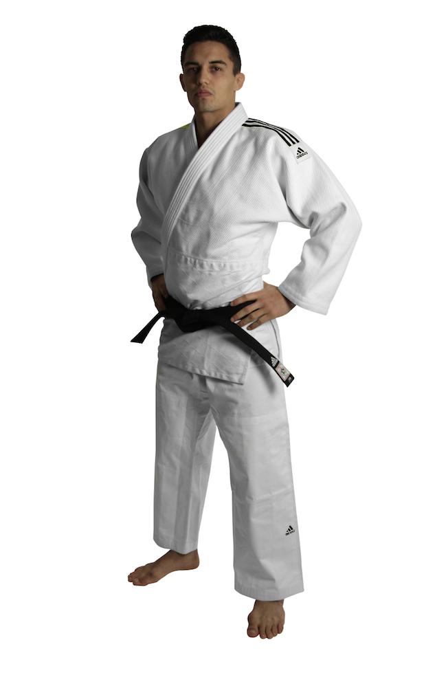 Adidas J690 Judo Anzug - Weiß - 160