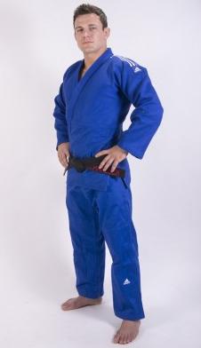 Adidas Champion II IJF Judo Suit - Bleu - 160