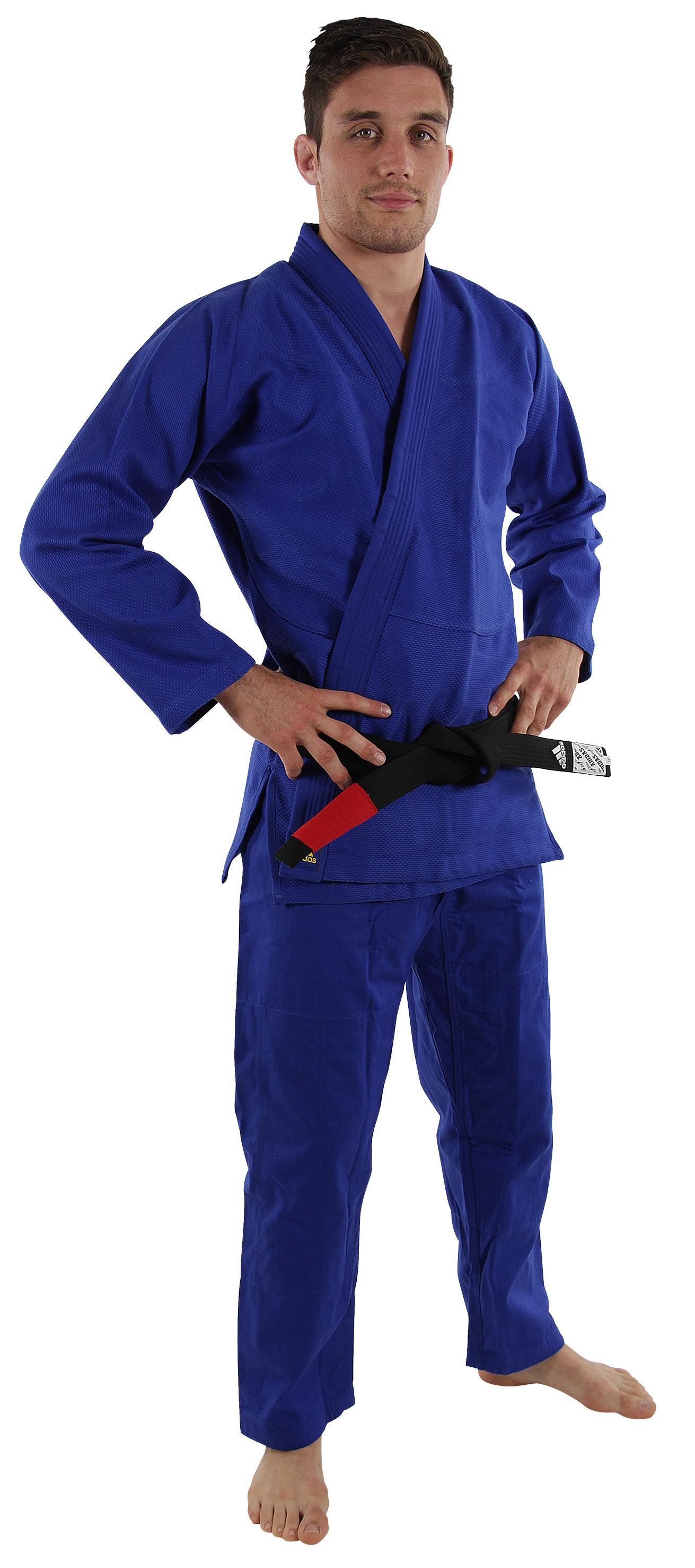 Image of   Adidas Challenge Brazilian Jiujitsu Suit - Blå