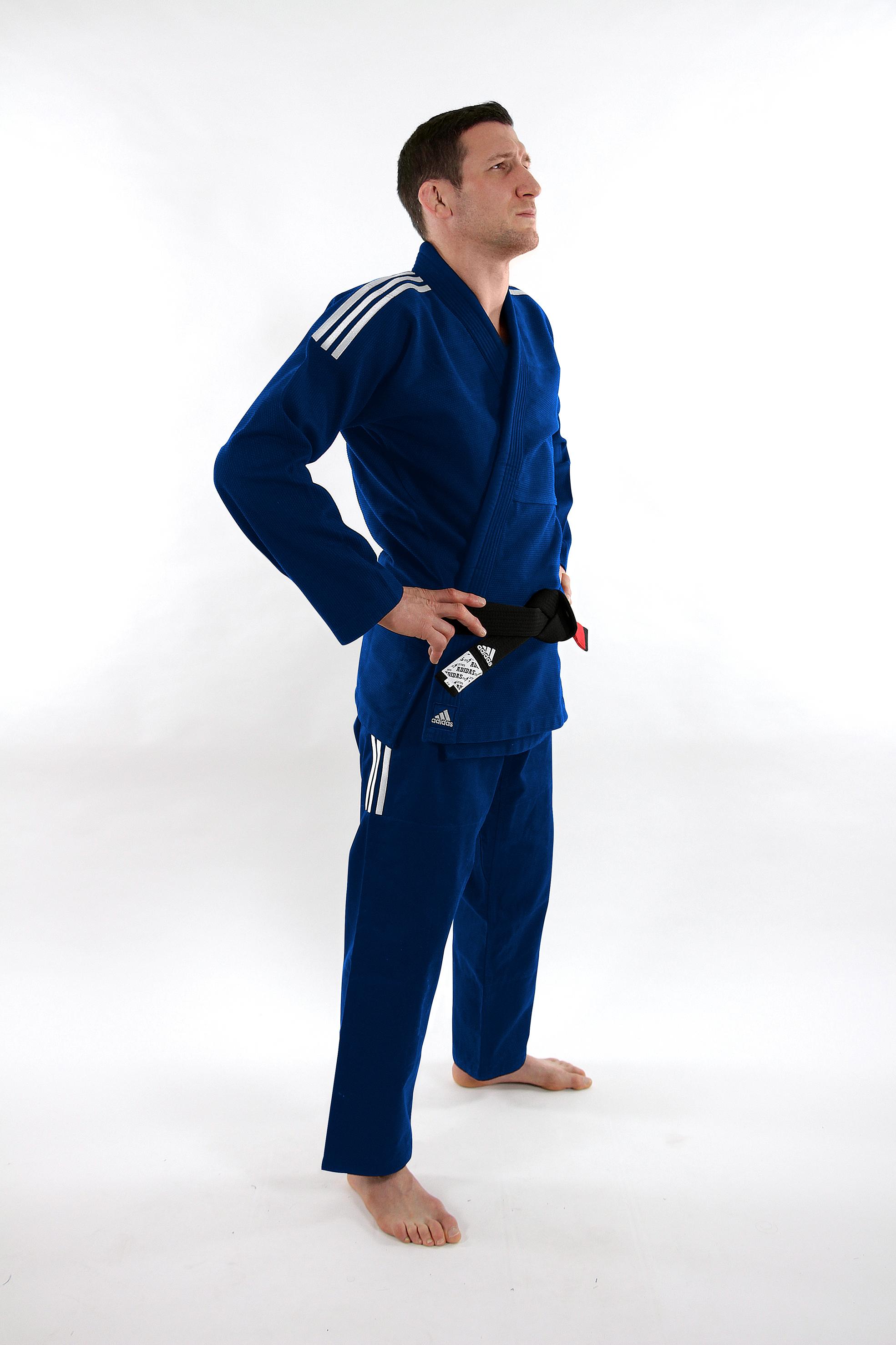 Image of   Adidas Contest Brazilian Jiujitsu Suit - Blå