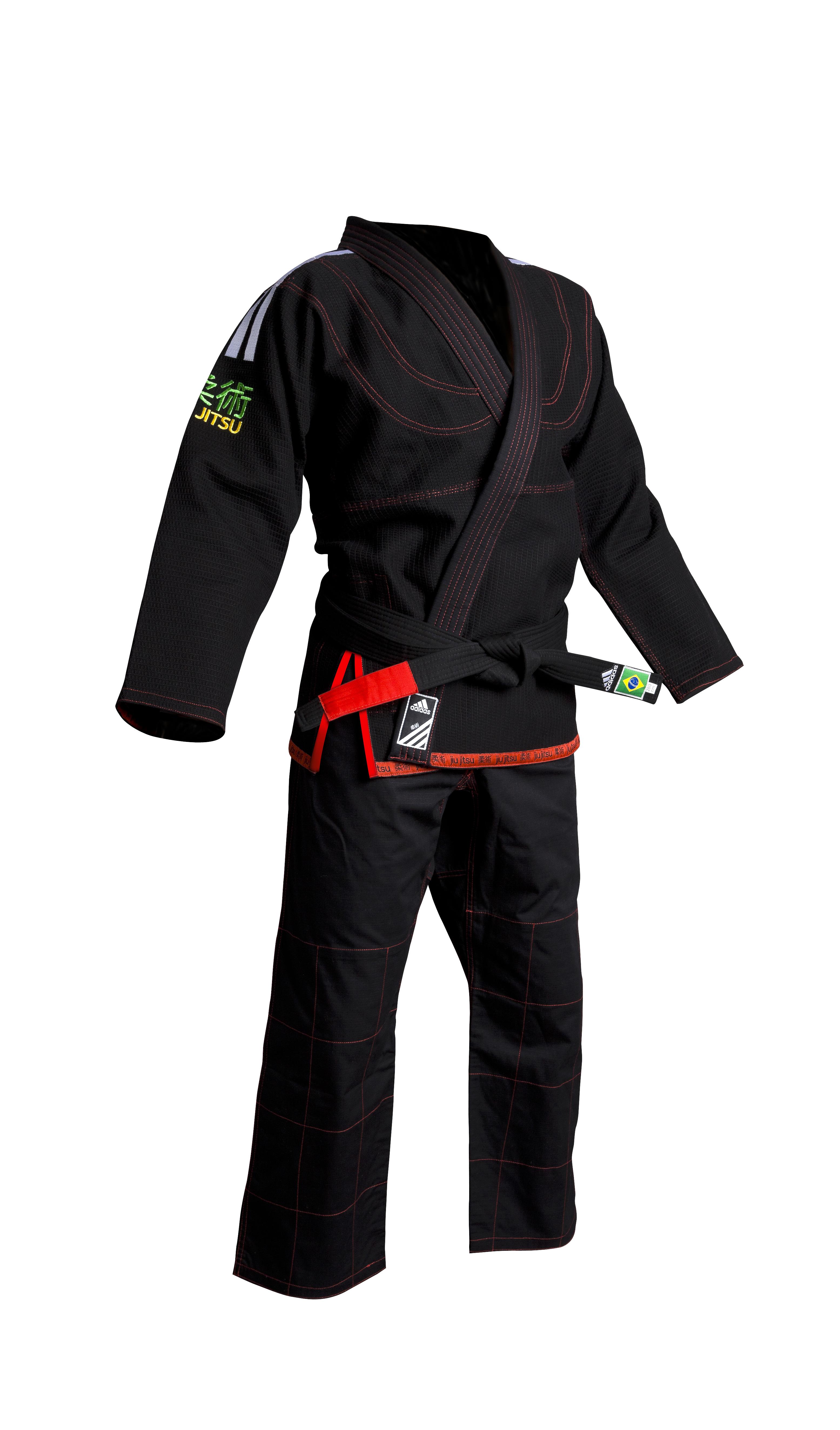 Image of   Adidas Brazilian Jiujitsu Suit - Black