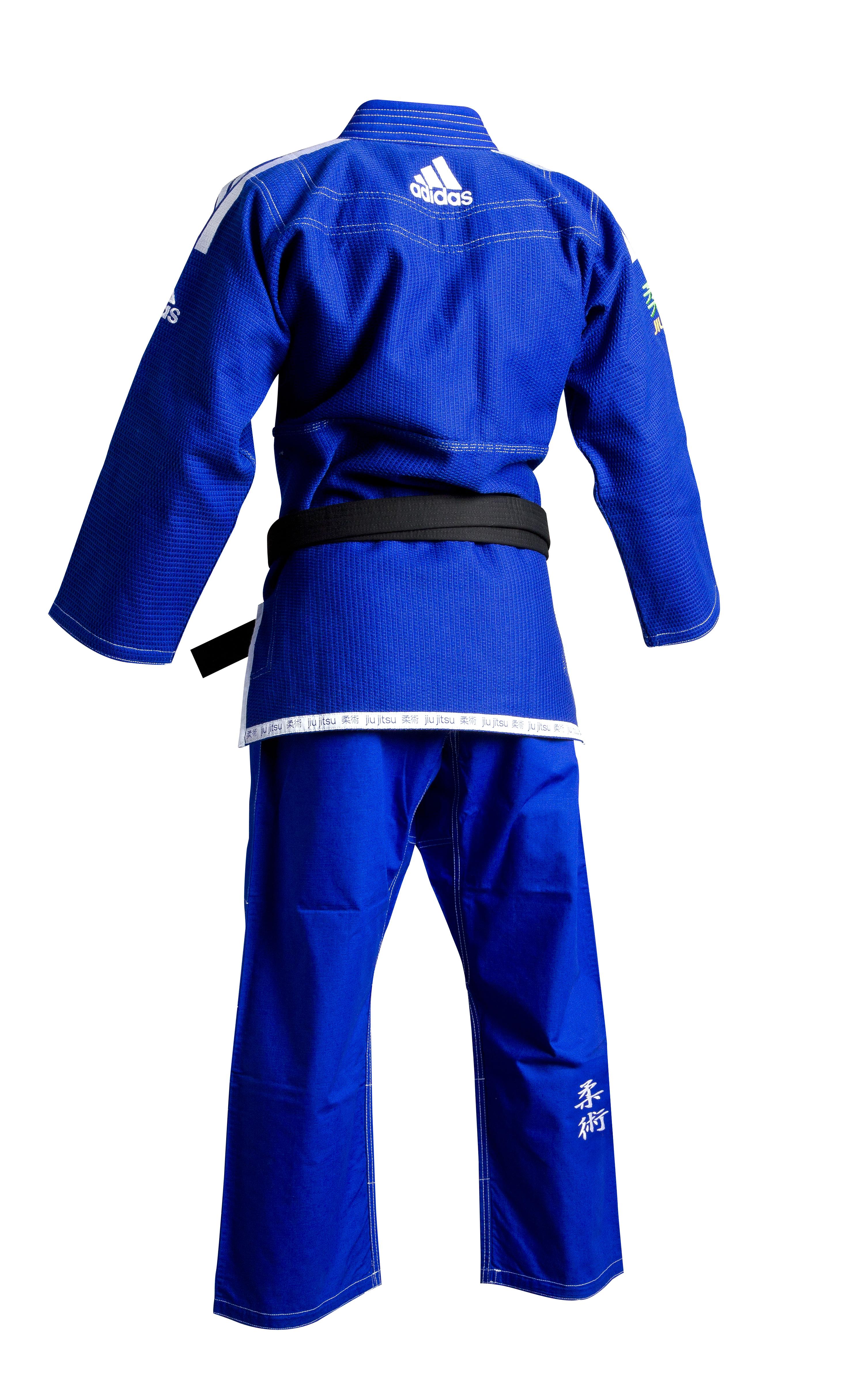 Image of   Adidas Brazilian Jiujitsu Suit - Blå