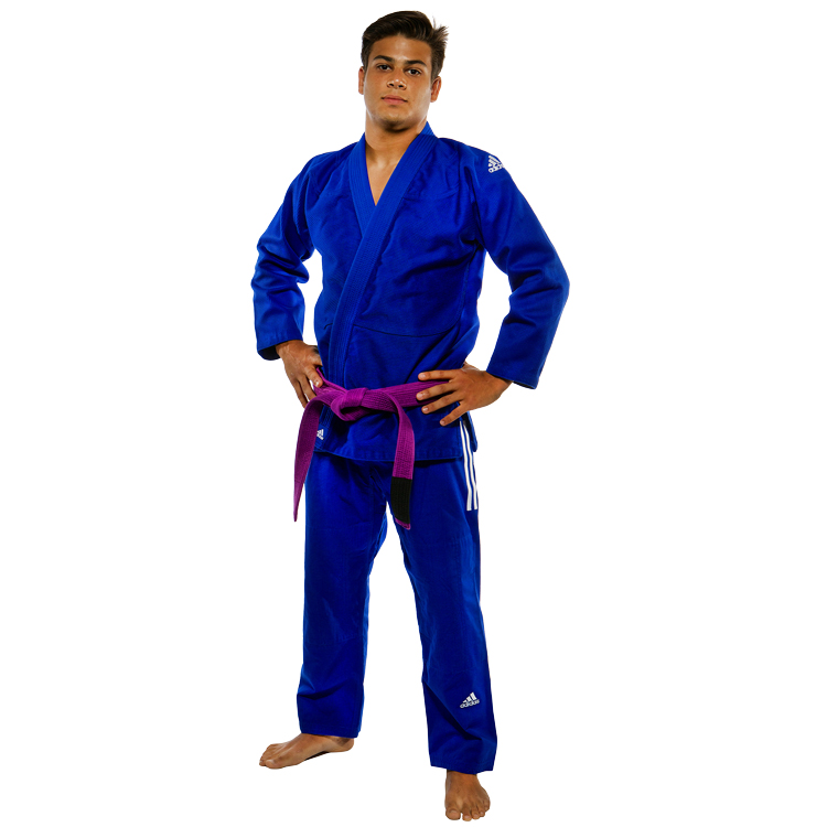 Image of   Adidas Champion IBJJF Brazilian Jiujitsu Suit - Blå