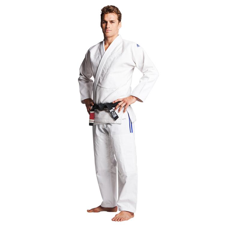 Image of   Adidas Champion IBJJF Brazilian Jiujitsu Suit - Hvid