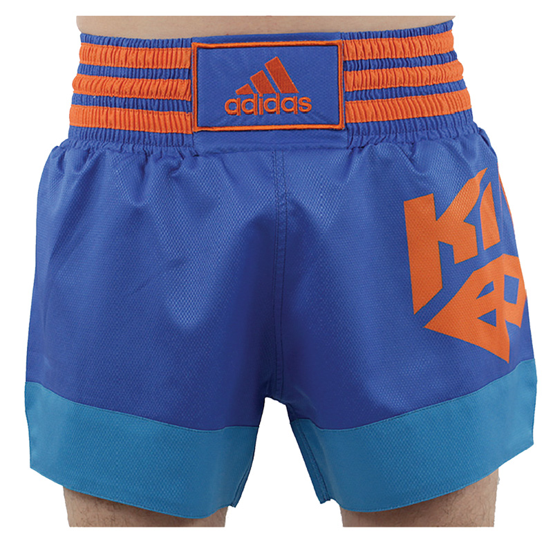 Image of   Adidas Speed Kickbox Short - Herre - Blå / Orange